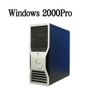 中古パソコン ワークステーション DELL Precision 390(Core 2 Duo E4300)(DVD-ROM)(メモリ1GB)(Windows 2000Pro)(y-2k-111)|pchands
