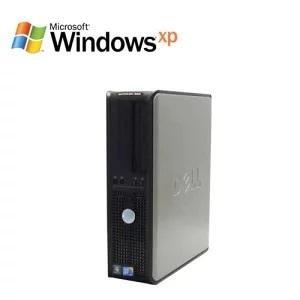 中古パソコンDELL Opt中古パソコンDELL Optiplex 760SF(Core2 Duo E8400)(メモリ2GB)(DVD-ROM)(WindowsXP Pro)(y-d-113)