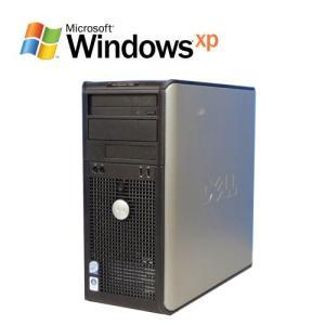 中古パソコン DELL Optiplex 755MT(Core2Duo E6550 2.33GHz)(2GB)(160GB)(WindowsXP Pro)(y-d-267)
