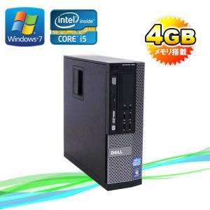 中古パソコン DELL7010SF/Core i5 3470(3.2GHz)/メモリ4GB/HDD500GB/DVDマルチ/64Bit Windows7Pro/セキュリティソフトノートン/y-d-284|pchands