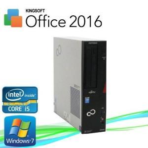 中古パソコン デスクトップパソコン Core i5 3470 メモリ4GB DVDマルチ 富士通  D582 Windows7 Pro 64bit d-388|pchands