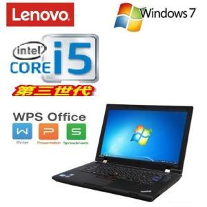 中古 ノートパソコン ノ−トPC 第3世代 Core i5 3210M メモリ4GB HDD320GB Lenovo ThinkPad L530 15.6液晶 DVDマルチ 無線LAN Windows...