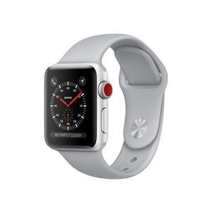 中古 apple watch アップルウォッチ 本体 Apple Watch Series 3 GPS + Cellularモデル 38mm アルミニウム [シルバー] A1889 Apple バンド付き Bランク|pcjungle