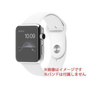 中古スマートウォッチ 本体 Apple Watch (第 1 世代) 42mm ステンレススチール MJ452J/A Apple Bランク pcjungle