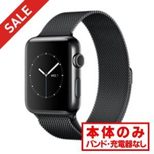 中古アップルウォッチ Apple Watch Series 2 42mm ステンレススチール スペー...