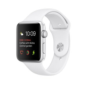 中古スマートウォッチ Apple Watch Nike+ Series 2 42mm アルミニウム ...