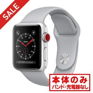 中古 apple watch アップルウォッチ 本体 Apple Watch Series 3 GPS + Cellularモデル 38mm アルミニウム [シルバー] MQKJ2J/A Apple Bランク|pcjungle