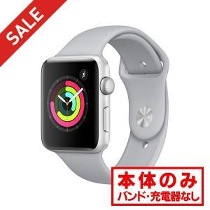 中古 apple watch  アップルウォッチ 本体 Apple Watch Series 3 GPSモデル 38mm アルミニウム [シルバー] MR352J/A Apple Bランク|pcjungle