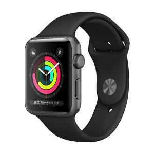 中古 apple watch アップルウォッチ 本体 Apple Watch Nike+ Series 3 GPSモデル 38mm アルミニウム [スペースグレイ] MQKY2J/A Apple Bランク|pcjungle