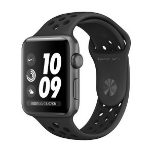 リユースBランク  中古スマートウォッチ Apple Watch Nike+ Series 3 GP...