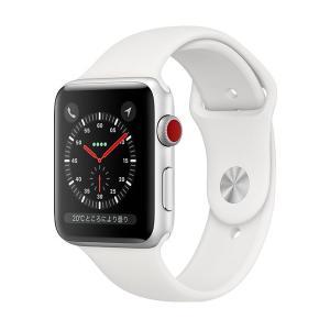 中古 apple watch アップルウォッチ 本体 Apple Watch Nike+ Series 3 GPS + Cellularモデル 38mm アルミニウム [シルバー] MQM72J/A Apple Bランク|pcjungle
