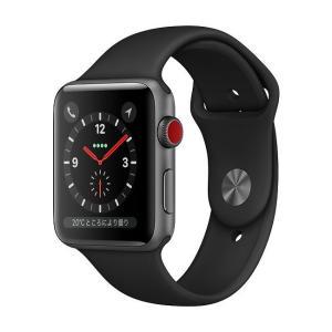 中古 apple watch アップルウォッチ 本体 Apple Watch Series 3 GPS + Cellularモデル 38mm アルミニウム [スペースグレイ] MR2Y2J/A Apple Bランク|pcjungle