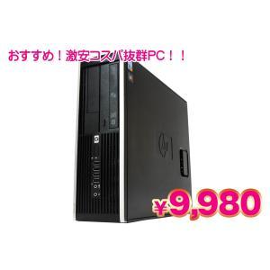 HP Compaq 6005 Pro SFF PC MAR Windows10 Professional 64bit AMD Athlon II X2 B22 2.80GHz メモリ2GB HDD160GB Bランク 中古 デスクトップパソコン|pcjungle