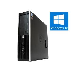 HP Compaq 6005 Pro SFF PC MAR Windows10 Professional 64bit AMD Athlon II X2 B28 3.40GHz メモリ2GB HDD250GB Bランク 中古 デスクトップパソコン|pcjungle