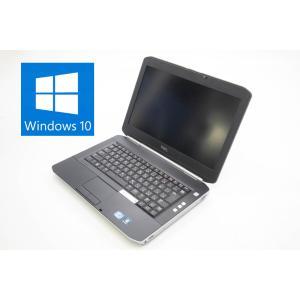 DELL Latitude E5420  MAR Windows10 Pro 64bit Intel Core i5 2520M 2.50GHz メモリ2GB HDD250GB 14