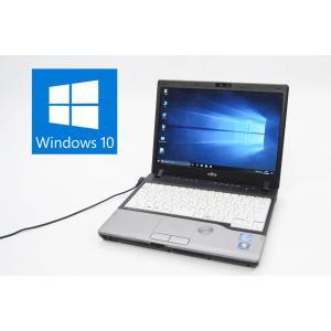 FUJITSU LIFEBOOK P772/G FMVNP8AE MAR Windows10 Pro 64bit Intel Core i5 3340M 2.69GHz メモリ2GB HDD320GB 12.1