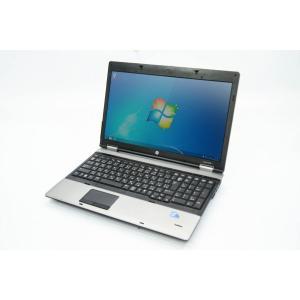 中古ノ−トパソコン ProBook 6550b  Windows7 Professional 64bit Intel Core i5 M 460 2.53GHz メモリ4GB HDD250GB 15.6