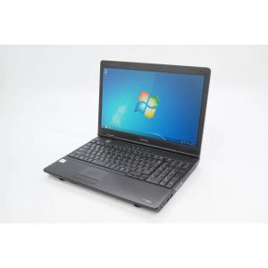 TOSHIBA dynabook Satellite L35 220C/HD Windows7 Professional 32bit Intel Celeron 900 2.20GHz メモリ2GB HDD160GB 中古ノ−トPC Bランク [無線LAN付属]|pcjungle