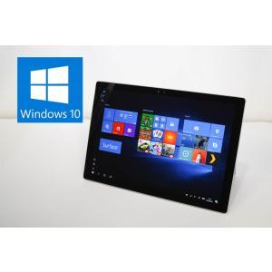 中古タブレット Surface Pro 4 1724 Windows10 Pro 64bit Intel Core m3-6Y30 0.90GHz メモリ4GB SSD128GB 12.3