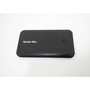 中古Wi-Fi モバイルルーター Mobile Slim IMW-C1000W [UQコミュニケーションズ] [ブラック×シルバー] NETWORK CONSULTING Bランク メール便可|pcjungle