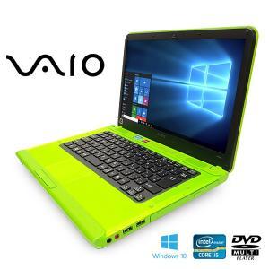 SONY ノートパソコン 中古パソコン VAIO Cシリーズ VPCCA3AJ Core i5 訳あり 4GBメモリ 14インチ Windows10 WPS Office 付き...