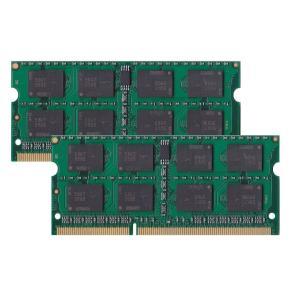 BUFFALO PC3-10600(DDR3-1333)対応 204Pin用 DDR3 SDRAM S.O.DIMM8GB(4GB×2枚組) D3N1333-4GX2 ノートPC用増設互換メモリ