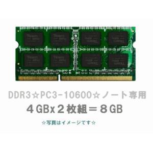 新品/即納/8GBセット/DDR3/NEC LaVie G/Lタイプ 対応メモリ/PC3-10600厳選良品【安心保証】【激安】