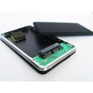 ・microSATA接続のSSD及びHDDをUSB外付けドライブとして使用するケースです。 ・mic...