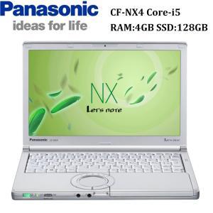 『在宅勤務対応』12型 Panasonic  CF-NX4 第5世代Core-i5 RAM:4GB SSD:128GB USB3.0 HDMI 中古ノートパソコン Win10 Pro パナソニック モバイルパソコン|pcmax