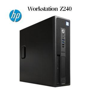 HP Z240 SFF Workstation XEON E3-1225v5 メモリ16GB 新品SSD256GB Quadro K620 USB3.0 Office付き Windows10 ワークステーション 中古パソコン デスクトップPC|pcmax