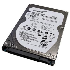 中古 SSHD Seagate 2.5インチ内蔵ハードディスク 500GB SATA ハイブリッド 7mm【ネコポス発送】|pcmax