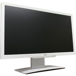 FMV 23インチワイドLED液晶モニタ VL-B23T-7 IPSパネル 1920x1080 フルHD HDCP 画面回転 高さ調整 中古ディスプレイ pcmax