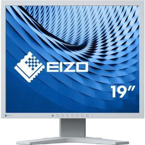 現行モデル EIZO 19インチLED液晶モニタ S1934-HGY IPSパネル 1280x1024 スクエアノングレア 高さ調整【中古】ディスプレイ|pcmax