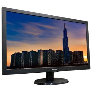 PHILIPS 27インチワイドW-LED液晶モニタ 273V5LHSB/11 1920x1080 フルHD HDCP HDMI ゲーミングモニタ【中古】ディスプレイ|pcmax