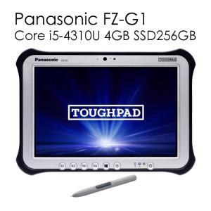 Panasonic TOUGHPAD FZ-G1 Core i5-3437U メモリ4GB 新品SSD256GB 無線LAN Bluetooth4.0 Office付き パナソニック 10.1型IPS液晶 タフパッド タブレット|pcmax