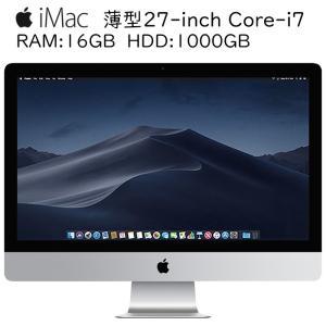 Apple iMac A1419 27-inch Core i7-3770 3.4GHz 16GBメモリ 1TB 2K解像度 アップル 10.14Mojave 中古一体型AIO 中古デスクトップパソコン|pcmax