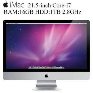 Apple iMac 21.5-inch Core-i7 16GBメモリ 1TBストレージ 1920x1080 フルHD解像度 アップル 10.13High Sierra 中古一体型AIO iMac12,1 EMC 2428 A1311|pcmax