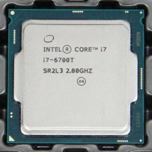 中古CPU プロセッサー Core i7 6700T SR2L3 @ 2.8-3.6GHz【ネコポス発送】|pcmax