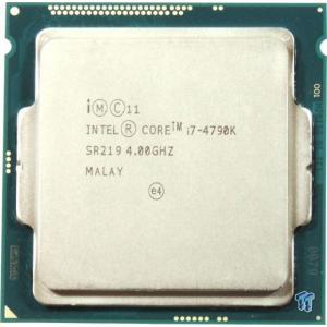 中古CPU プロセッサー Core i7-4790k @4.0-4.4GHz SR219【ネコポス発送】|pcmax
