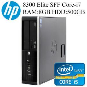 HP 8300/6300Elite SFF 第三世代Core i7-3770 8GBメモリ HDD500GB Office付き Win10/Win7 中古デスクトップパソコン|pcmax