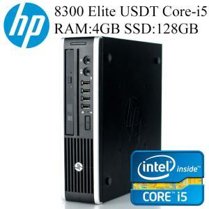 HP 8300 Elite USDT 第三世代Core i5-3470s 4GBメモリ SSD128GB Office付き Win10/Win7 中古デスクトップパソコン