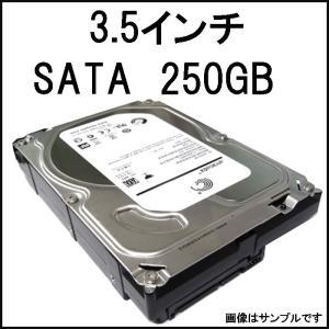 中古HDD 3.5インチ 【WD/Seagate】 SATA 内蔵ハードディスク 250GB  【ネコポス発送】【中古】|pcmax