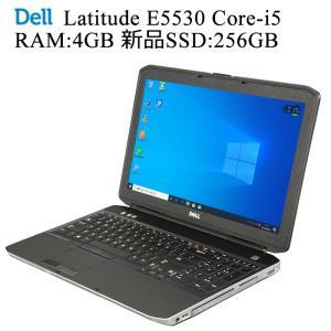 DELL Latitude E5530 第三世代Core-i5 RAM:4GB 新品SSD:256GB 正規版Office付き 無線内蔵 Win10 中古ノートパソコン|pcmax