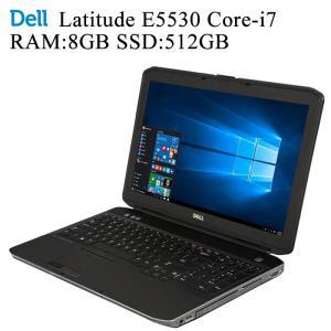 DELL Latitude E5530 第三世代Core-i7 8GBメモリ 新品SSD512GB 正規版Office付き Win10 中古ノートパソコン|pcmax