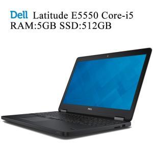 DELL Latitude E5550 第五世代Core-i5 8GBメモリ 新品SSD512GB 正規版Office付き 無線内蔵 Win10 中古ノートパソコン|pcmax