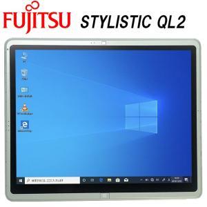 安心日本製タブレット 富士通 STYLISTIC QL2 Core-i5 12型 RAM:4GB SSD:64GB タッチ Wi-Fi Bluetooth 中古タブレット タブレットPC Tablet Windows10 Pro FMV|pcmax