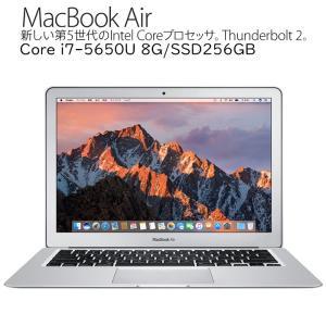 Apple MacBook Air A1466 Core i7-5650U 2.2GHz 8GBメモリ SSD256GB 13.3インチ液晶 英語キーボード仕様 Early 2015 MacBookAir7,2 アップル 中古ノートパソコン|pcmax