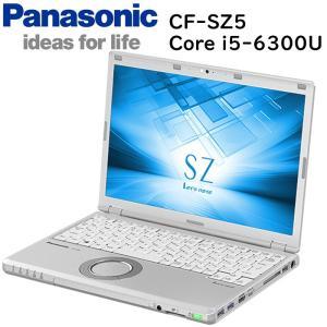 在宅勤務対応 Panasonic Let's note CF-SZ5 第六世代Core-i5 RAM:8GB SSD:256GB USB3.0 Webカメラ Win10 中古ノートパソコン|pcmax