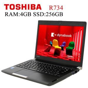 東芝 TOSHIBA Dynabook R734 第四世代Core-i5 4GBメモリ SSD256...