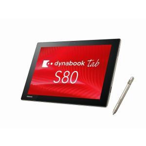 東芝 DynaBook Tab S80 ATOM X5-Z8350 1.44GHz 10インチ 4GB/128GB Win10 タブレット|pcmax